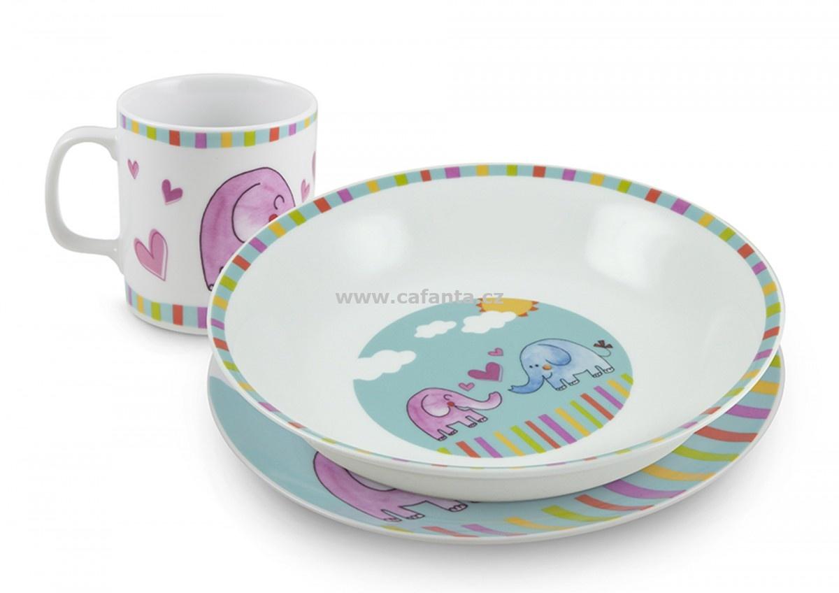 Dětský porcelán slon